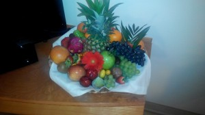 THE BEST FRUIT BOWL EVER
